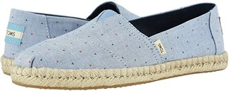 Toms Alpargata (Oatmeal Melange Felt/Faux Shearling) Women's Shoes