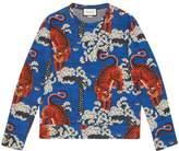 Gucci Bengal print sweatshirt
