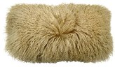 Donna Karan Flokati Genuine Shearling Pillow