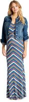 Motherhood Jessica Simpson Distressed Fabric Plain Weave Denim Maternity Jacket