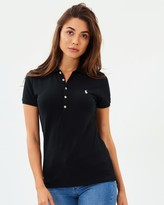 Polo Ralph Lauren Julie Skinny Short Sleeve Knit Polo