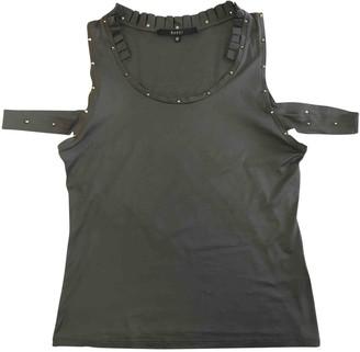 Gucci Khaki Cotton Top for Women