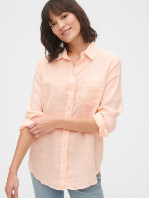 Gap Boyfriend Shirt in Linen