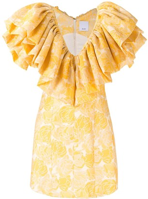 Acler Beston ruffled dress