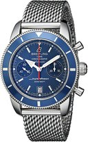 Breitling Men's A2337016-C856 Analog Display Swiss Automatic Silver Watch