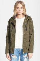 Topshop 'Duke' Hooded Jacket