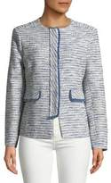 Helene Berman Textured Fringe Jacket