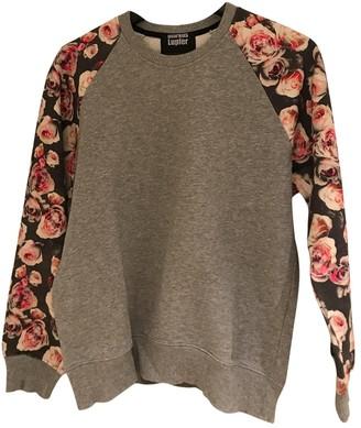 Markus Lupfer Grey Cotton Knitwear for Women