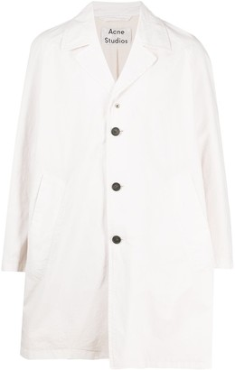 Acne Studios oversized A-line trench coat