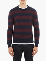 A.P.C. Navy Wool Vegas Sweater