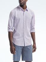 Banana Republic Grant Slim-Fit Seersucker Shirt
