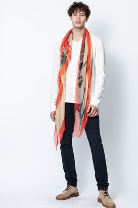 Zadig & Voltaire Kerry Palm Beach Scarf