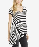 Jessica Simpson Maternity Printed V-Neck Top