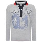 Gianfranco Ferre GF FerreBoys Grey Jersey Polo Shirt
