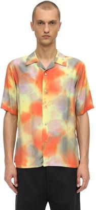 Ambush Hawaiian Tie Dye Rayon Shirt