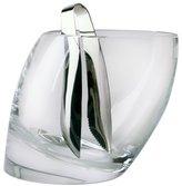 Nambe Tilt Ice Bucket with Tongs