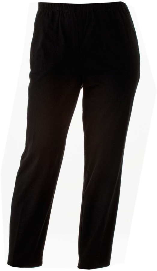 Plus Size Pull-On Dress Pants