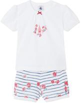 Petit Bateau Graphic two-piece pyjamas