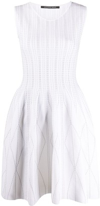 Antonino Valenti Flared Sleeveless Dress