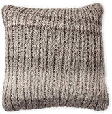 Saro Knit Front Pillow