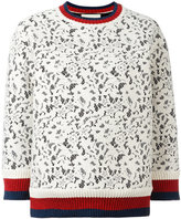 Gucci Sylvie Web lace sweater - women - Cotton/Polyamide/Polyester/Viscose - L