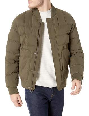 Bass GH Men's Quilted Microtwill Flight Bomber Jacket