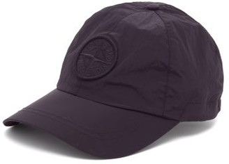 Stone Island Logo-embroidered Nylon Metal-shell Baseball Cap - Mens - Black