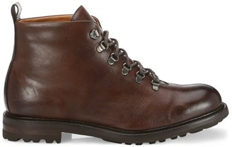 Saks Fifth Avenue COLLECTION Brandon Burnished Leather Ankle Boots