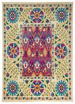 "Solo Rugs Suzani Collection Oriental Rug, 7'10"" x 10'10"""