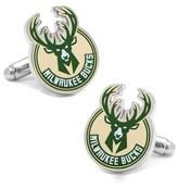 Cufflinks Inc. Men's Cufflinks, Inc. 'Milwaukee Bucks' Cuff Links