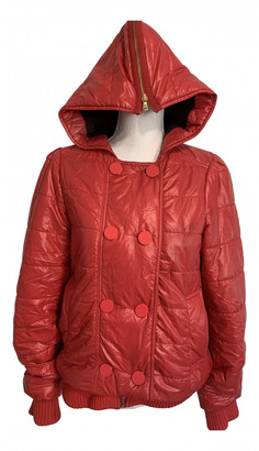 Marc by Marc Jacobs Red Synthetic Coats