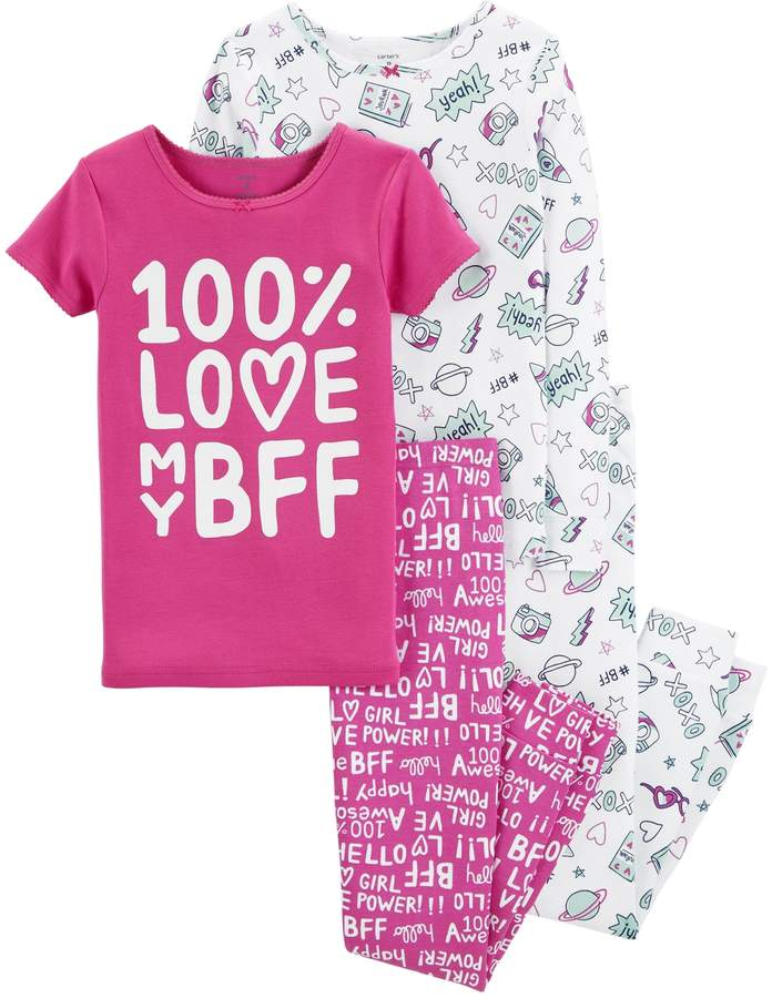 Carter's Girls 4-14 Top & Pants Pajama Set