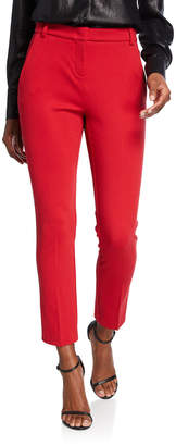 Pinko Flat-Front Straight Suit Pants