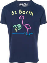 MC2 Saint Barth neon flamingo printed T-shirt