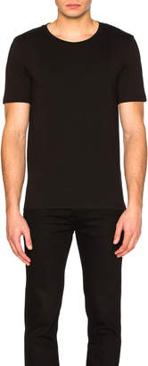 Maison Margiela Garment Dyed Basic Tee in Black | FWRD