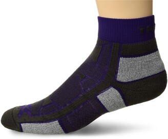 Thorlos Unisex OAQU Outdoor Athlete Thin Padded Ankle Sock