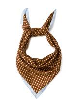 Diane von Furstenberg Stripe-print silk scarf