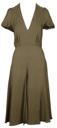 N°21 Green Silk Blend Women's Dress