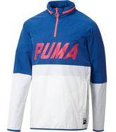 Puma Colorblock Quarter-Zip Jacket