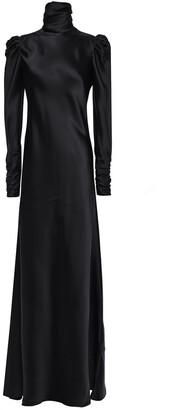 Zimmermann Ruched Satin-twill Gown