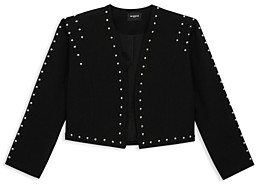 The Kooples Cropped Studded Jacket