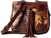 Patricia Nash Karisa Small Crossbody Saddle Bag Cross Body Handbags