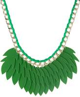 sweet deluxe GEERTJE Necklace silvercoloured/green