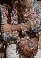 Leather Rock Rugged Turquoise Pocket Belt by at Free People
