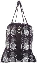 Dolce & Gabbana Pineapple Printed Techno Fabric Back Pack