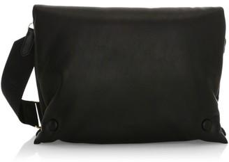 Nanushka Kai Faux Leather Pouch Crossbody Bag