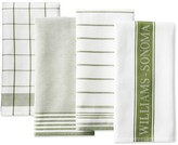 Williams-Sonoma Williams Sonoma Multi-Pack Towels, Moss
