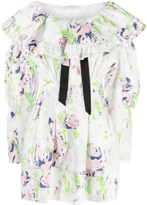 Philosophy di Lorenzo Serafini Floral-Print Mini Dress