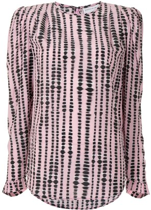 Rebecca Vallance Samir silk top
