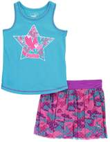"Puma Little Girls' Toddler ""Sporty Hearts"" 2-Piece Outfit"